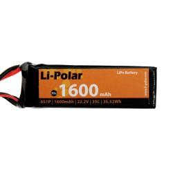 Li-Polar 6S1P 22,2V 1600mAh 35C DEAN