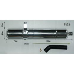 HATORI 523, Muffler 50NS-3D.3