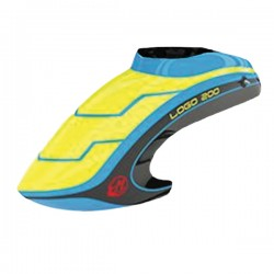 Canopy LOGO 200 neon-yellow/blue/black