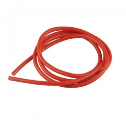 silicone cable AVG 12 4mm2 x 1000mm red