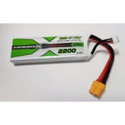 MANIAX POWER lipo 2S 2200mah 30C XT60