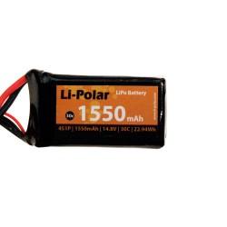 Li-Polar 4S1P 14,8V 1550mAh 35C XT60