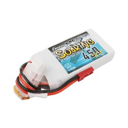 Batería LiPo Gens ACE Soaring 2s 7.4V 450mAh 30C