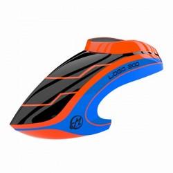 Canopy LOGO 200 neon-orange/blue