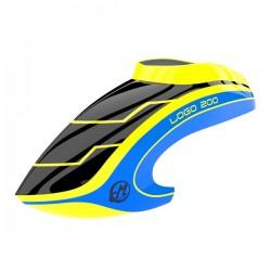 Canopy LOGO 200 black/neon-yellow/blue