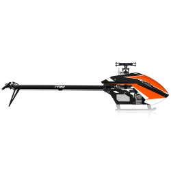 NiTron Helicopter kit black orange canopy 21T/24T