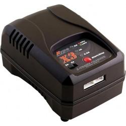 Charger X3 230V 2-3S LiPo/LiFe