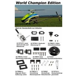 XLpower - Specter 700 World Champion Edition - Kit without blades - White-Red Canopy