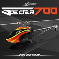 XLpower - Specter 700 Kit - Yellow-Blue Canopy
