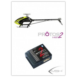 Protos Max V2 + BrainV2 - Neon yellow