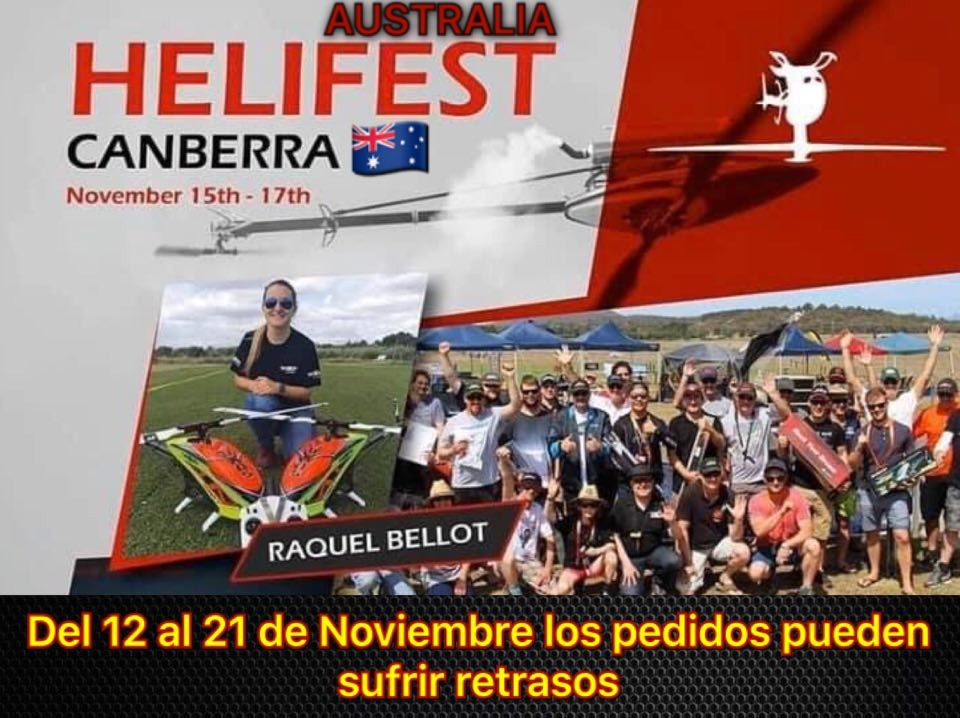 See you on helifest Australia!!