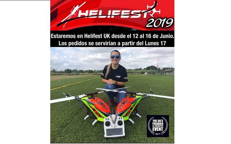 ¡¡Estaremos en Helifest UK desde el 12 al 16 de junio!!